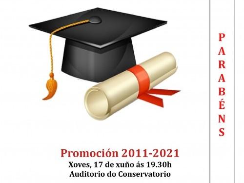 ACTO DE GRADUACIÓN (Promoción 2011-2021)